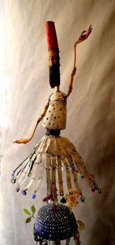 dervish dervish, sculpture, assemblage, Gerard Collas
