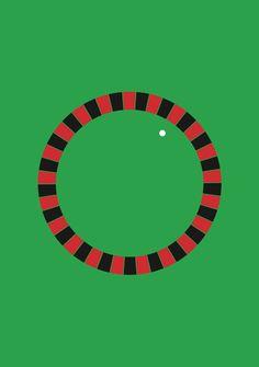 Minimal graphism/ casino /laureandrieux.com