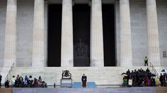 Saluting a Dream, and Adapting It for a New Era - Obama Remembers the March on Washington: President Obama addressed thousands of people gathered at the Lincoln Memorial on Wednesday to commemorate the 50th anniversary of the landmark civil rights event.