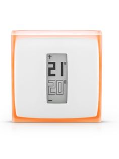 Control your heating wherever you are with the Smart Thermostat for Smartphone designed by Starck. Use 37% less energy to heat your home.