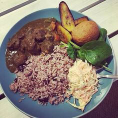 What's for dinner today? Rice and peas recipe at http://jamaicans.com/ricepeas/  by @___joanna__louise__ #riceandpead #dinner #jamaicanfood #jamaicanrecipes #foodporn #wejaminate