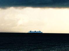 Ferry storm
