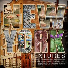 Travel scrapbook layout: New York Textures - Great cover or page idea. Scrapbook Travel Album, Vacation Scrapbook, New York Scrapbooking, Digital Scrapbooking, Scrapbooking Ideas, Scrapbook Examples, Scrapbook Page Layouts, Scrapbook Designs, Scrapbook Paper Crafts
