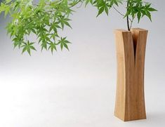 Creative vase designed by Japanese design collective Teori.