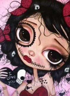 I Love You by Dottie Gleason Art