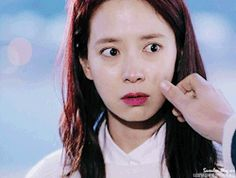 Song Ji Hyo starring in Emergency Couple. © on gif