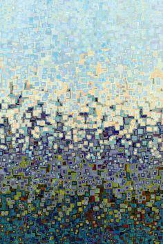 Christian Art | Deuteronomy 6:5. You Shall Love | Modern Abstract Art, Mark Lawrence