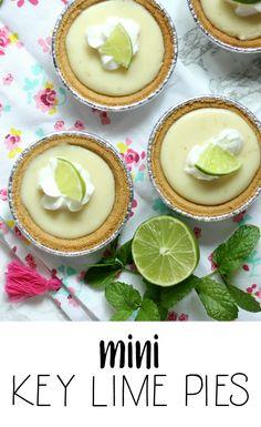 Mini Key Lime Pies - Momma Lew