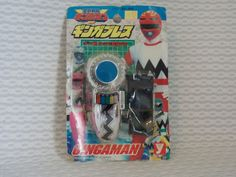 Power Ranger Lost Galaxy Gingaman Brace Morpher Changer 1998 JAPAN #Bandai