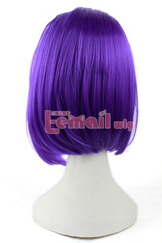 New Arrival Raven From Teen Titans 35cm Medium Purple Anime Cosplay Synthetic Hair Wigs ZY10-in Cosplay Wigs from Health & Beauty on Aliexpress.com   Alibaba Group