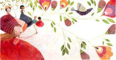 Aurélie Blanz.com  illustration peinture (à l'huile?)