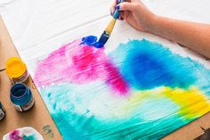 Upgrade your table linens with this watercolor technique.