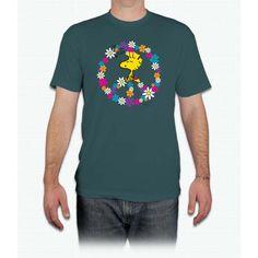 Woodstock Peace Tee Snoopy - Men T-Shirt