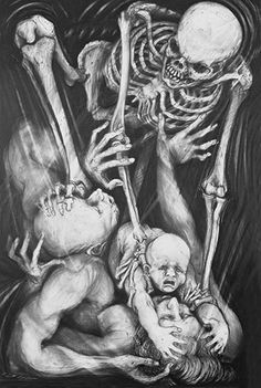 Clint Brown - The Plague Drawings