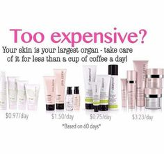 Is investing in a good skincare more expensive than the burger and fries you have just bought? Love you skin and feel confident about yourself. Trying these products is free so why don't you book an appointment with me today www.marykay.com/cmurinda call or text 9292256290