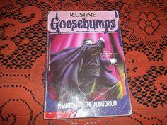 R.L. Stine Goosebumps Phantom of the Auditorium 1994