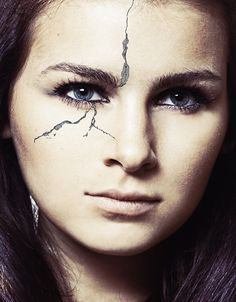 Realistic crack effect in Photoshop