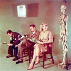 Marilyn Monroe in the waiting room…