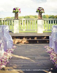 Outdoor Wedding Ceremony - Altar Flowers at Vineland Estates Winery - 2 Wedding Prep, Wedding Planning, Dream Wedding, Wedding Stuff, Wedding Ceremony Decorations, Wedding Venues, Vineland Estates, Altar Flowers, Flower Studio