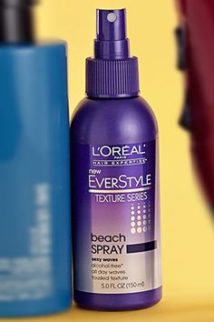 Fine and Flat Hair- Best Products for Volume - L'Oreal Beach Spray