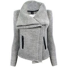 IRO Kristen Jacket found on Polyvore featuring polyvore, women's fashion, clothing, outerwear, jackets, coats, tops, coats