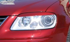 LK Performance RDX Headlight covers VW touran 1t -2006 /-2010 touran 1t1 Headlight Covers, Vw Touran, Vacuum Forming, The Body Shop, Flexibility, Abs, How To Apply, Racing, Products