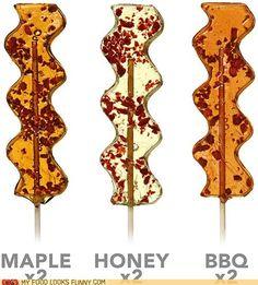 Bacon Lollipops!