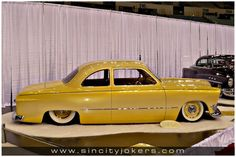 1950 ford coupe - great yellow fade