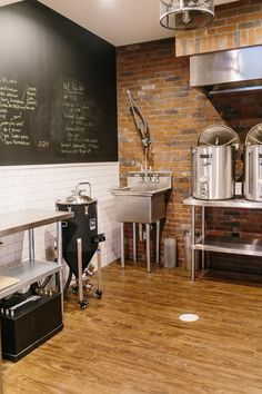 Homebrewing layout Glen Alcove - Home Brewery Home Brewery, Home Brewing Beer, Brewery Design, Home Brewing Equipment, Beer Recipes, Homebrew Recipes, Brew Pub, Coffee Truck, Homebrewing