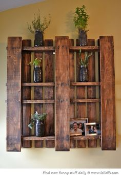 LOL pallet bookshelves