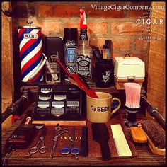 The weekend is finally upon us all and that means copious amounts of premium cigars & traditional barbering. Friday, Saturday & Sunday we roll out with 4 barbers to serve your gentlemanly needs. There are some spots available but they're going fast...