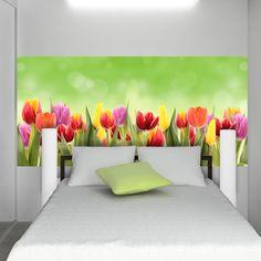 Znalezione obrazy dla zapytania tulipany fototapety