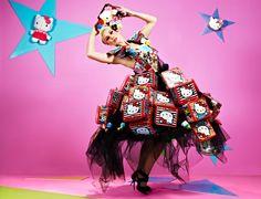 America's Next Top Model British Invasion Hello Kitty photo shoot Georgina Chapman, Top Models, Hello Kitty Photos, America's Next Top Model, Model Photos, Editorial Fashion, Fashion Photography, Style Inspiration, Haute Couture