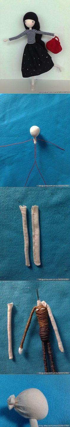Muñeca articulada - estructura alambre