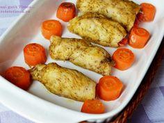 Rulouri din piept de pui cu ardei si mustar - imagine 1 mare Pretzel Bites, Carne, Sausage, Bread, Diet, Chicken, Food, Savory Snacks, Fine Dining