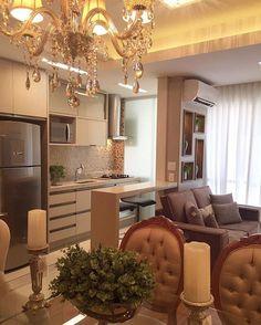 Elegante. #meuapedecor #apartment #apartamento #decoração #decoration #inspiração #inspiration #pinterest