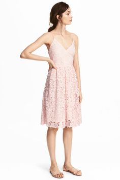 Lace dress - Light pink - Ladies | H&M CA