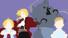Elric+Brothers+from+Fullmetal+Alchemist|Minimalist+by+matsumayu.deviantart.com+on+@DeviantArt