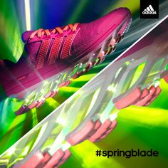 Women's adidas Springblade Running Shoes at Finish Line. Wanna get these. :)
