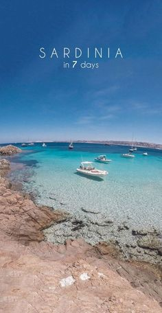 Explore Sardinias most beautiful beaches in 7 days! Read my detailed road trip itinerary for a week on this paradise isl Great Vacations, Romantic Vacations, Romantic Travel, Travel Destinations Beach, Places To Travel, Travel Tips, Italy Vacation, Italy Travel, Italy Trip