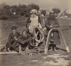 Ethnically Russian people. Жители Орловской губернии. Конец 1870-х