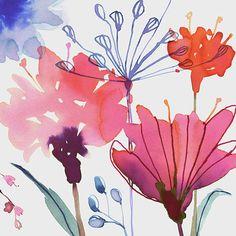 Magrikie : Illustration : florals / plants / spring