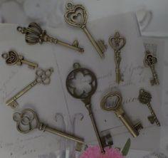 bronskleurige sleutels