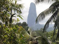Pico de Sao Tome is the highest point in Sao Tome and Principe at 6,640 ft (2,024 m).