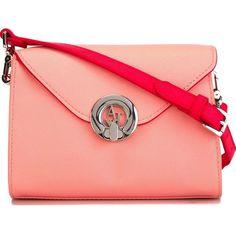 Armani Jeans Logo Emblem Shoulder Bag ($121) ❤ liked on Polyvore featuring bags, handbags, shoulder bags, armani jeans, red shoulder bag, red handbags, shoulder bag purse and armani jeans purse