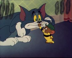 """""""Jerry's Cousin"""" Tom and Jerry and Muscles"""