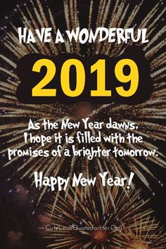 Happy new year 2018 quotes 3d new year 2019 wallpaper hall of happy new year 2019 quotes m4hsunfo