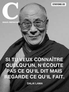 Life Quotes : citations-Lama- - The Love Quotes Positive Mind, Positive Attitude, Some Words, More Than Words, Motivational Quotes, Inspirational Quotes, Quote Citation, French Quotes, Dalai Lama