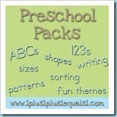 Preschool-Packs522
