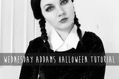 Wednesday Addams Halloween Costume Tutorial